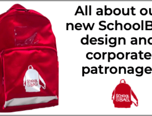 No. 41: A New Red Rucksack…And Corporate Patronage