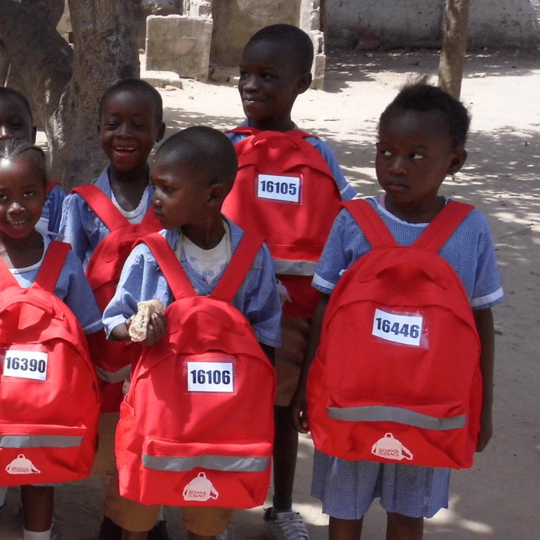 SchoolBag Distribution After