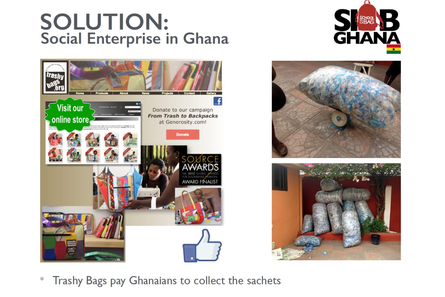 Trashy Bags slide 2