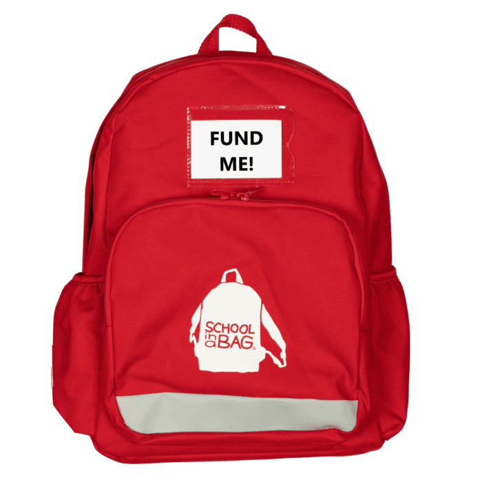 FUND a UK-packed School In a Bag