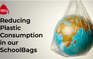 Reducing plastic consumption in our SchoolBags