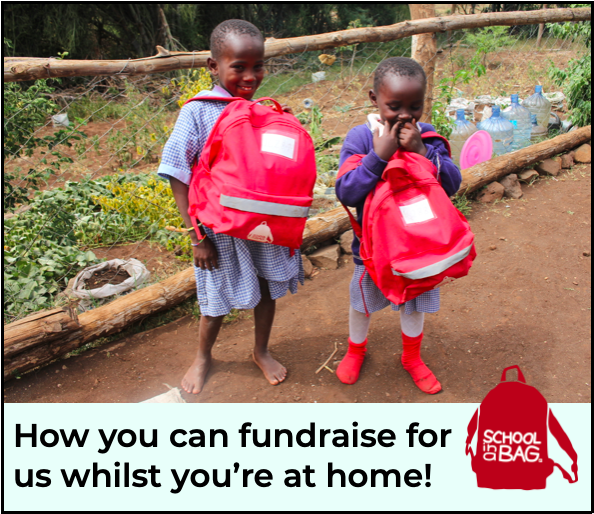 How to fundraise whilst you're at home