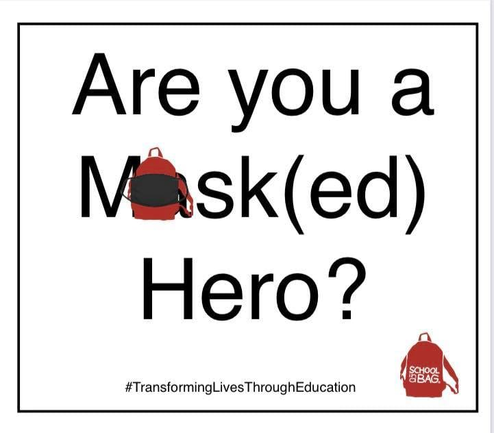 Are you a masked hero?