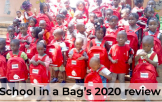 School in a Bag's 2020 End of Year Review