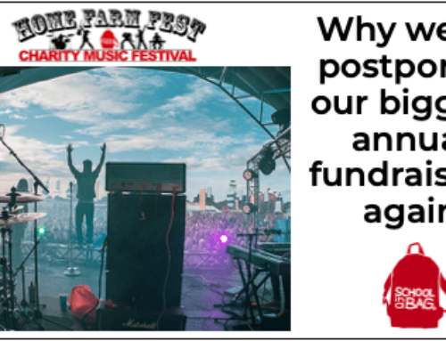No. 57: Having to postpone our music festival…again